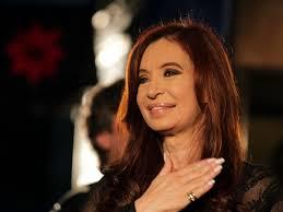 La presidenta de Argentina, Cristina Fernández de Kirchner, ha sido reelegida en primera vuelta, según los resultados oficiales de las elecciones ... - Cristina-Fernandez-presidenta-argentina