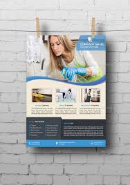 commercial cleaning flyer templates cleaning services flyer template by elitely graphicriver