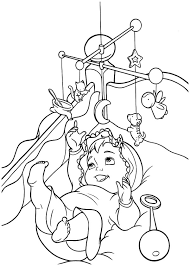 Small Picture Babies Play Activity Gyms Coloring Pages Bulk Color