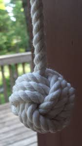 Rope Knot Light Pull Nautical Fan Pull Nautical Light Pull By Karensropework On