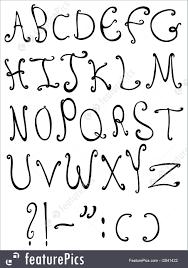Decorative Letters Decorative Letters Illustration