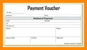 Cash Payment Voucher Format In Doc Of Receipt Blank Sample