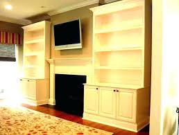 diy built ins around fireplace shelves next to fireplace built ins around shelving in bookshelves cabinets ideas diy fireplace mantel and built ins