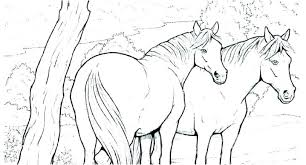 Coloring Pages Mustang Horse Coloring Pages Wild To Print Horses