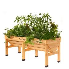vegtrug raised garden table medium at diy home center
