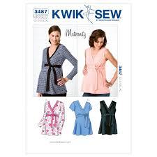 Maternity Patterns Amazing Amazon Kwik Sew K48 Maternity Tops Sewing Pattern Size XS