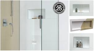 the ideal solution for shower storage easyniche is a one piece recessed shelf unit for your tiled shower that saves space and fits easily into your wall