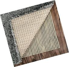 rug pads anti slip pad for under area rugs carpets runners doormats on safe hardwood floors