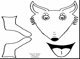 Small Picture Fox In Socks Coloring Pages For Property Cool And Page diaetme