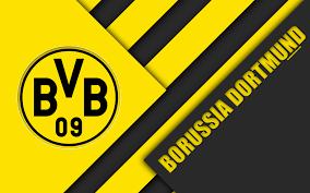 Download Wallpapers Borussia Dortmund Fc 4k Material
