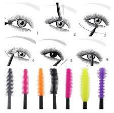 Eyelash Brush Disposable Colorful Silicone Eyelash Brush Mascara Wands Applicator Spoolers Makeup Tool