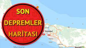 Son dakika deprem haritası: Deprem mi oldu? 7 Nisan Kandilli Rasathanesi son  depremler sayfası - Son Dakika Haberleri