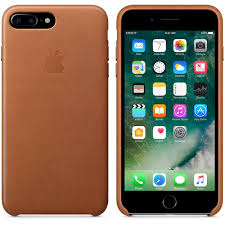 leather case for apple iphone 7 plus saddle brown