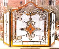 stained glass fireplace screen fireplace stained glass screen stained glass fireplace screen stained glass fireplace screen
