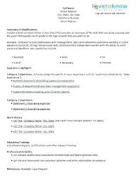 Resume Template Blank Form Resume Sample Blank Form Empty Format Templates Free Samples