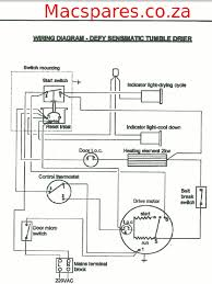 wiring diagrams tumble driers macspares whole spare wiring diagrams tumble driers