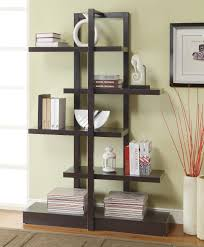 ... Inspiring Modern Bookcase Wall Mounted Bookcase Ikea Black Bookcase  With Books And Decorations: ...