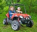 peg perego polaris ranger rzr 900 red