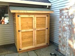 storage shed cost to build outdoor