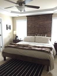 DIY West Elm inspired king size slat bed with Casper mattress. Based ...