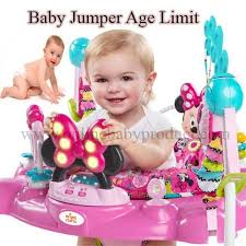 Baby Jumper Age Limit to Start Using for Babies Development