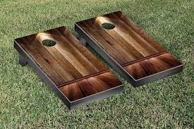 Wooden Lawn Games Victory Tailgate Wooden Spotlight Themed Cornhole Game Set 11