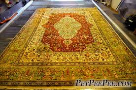 antique oriental rug cleaning from dog urine odor by pet service