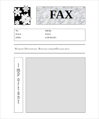 Blank Cover Letter Fax Cover Letter Printable Template 9 Blank Fax Cover Sheet