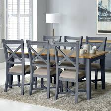 round dining room sets for 6. Dining Table With 6 Chairs Painted Taupe Large Extending Seats 8 . Round Room Sets For N