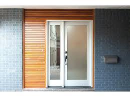 modern glass entry doors mid century modern front door modern double front doors with glass