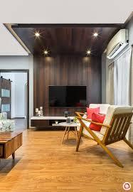 wooden false ceiling idea 2 recessed lighting