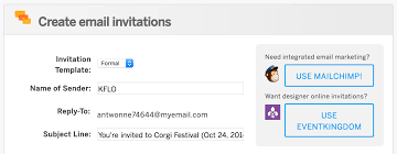 Creating An Email How To Create And Send Email Invitations For Your Event Eventbrite