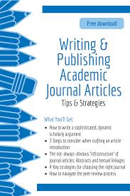 Scientific Writing Free Download Writing Publishing Academic Journal
