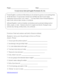 English Worksheets | 6th Grade Common Core Worksheets
