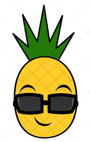 pineapple with sunglasses clipart. pin pineapple clipart sunglass #4 with sunglasses o