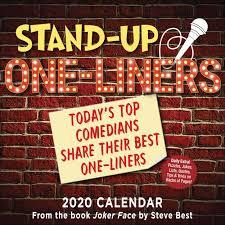 standup desk calendars stand up one liners desk calendar 2020