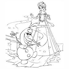 Kleurplaat Frozen Elsa En Anna En Olaf Kids N Fun 17 Kleurplaten Van
