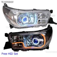 Revo Led Lights Details About Fits Toyota Hilux Revo Sr5 M70 80 2015 17 Front Head Lamp Projector Drl Led Hid