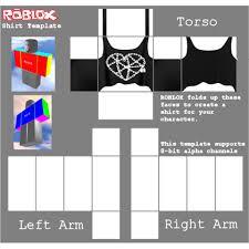 Roblox Shirt Layout Roblox Shirt Template Transparent Png Clipart Free