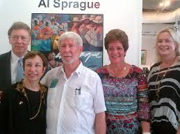 artist reception at gallery with panamanian representativeemphis in may representatives