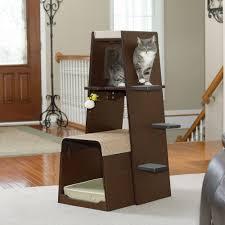 pet products  modular modern cat tower    sauder