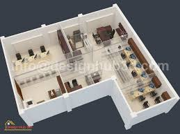 Office Design Plan 3d Office Designhub 3d