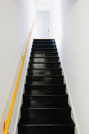 Painted Wood Stairs All Remodelista Home Inspiration Stories In One Place Black