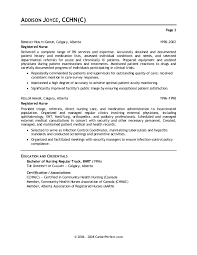 Nursing Resume Cover Letter 19 Sample Ca Page2 Pvqlwz Large