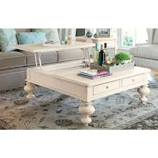paula deen home put your feet up table in linen finish free today 11627199