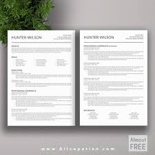 Best Resume Template 2019 221420 29 Unique Stock Creative Marketing