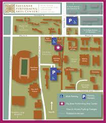 Plan Your Visit Faulkner Performing Arts Center
