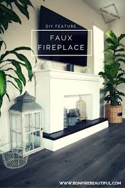 Build A Fake Fireplace Top 25 Best Faux Mantle Ideas On Pinterest Faux Fireplace Fake