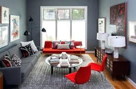 red sofa what colour walls impressive leather armistead interior design 11
