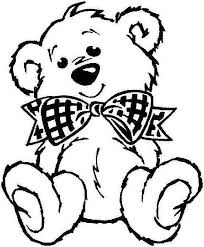 teddy bear coloring pages. Fine Teddy Teddy Bear Coloring Pages Cakepinscom Intended